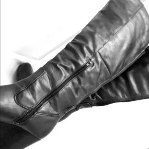 Women's Chinese Laundry Knee Length Wedge Boots